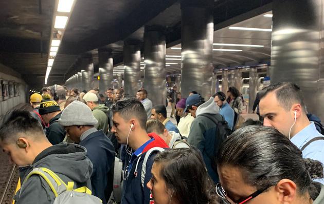 Crowd at Maverick on the Blue Line