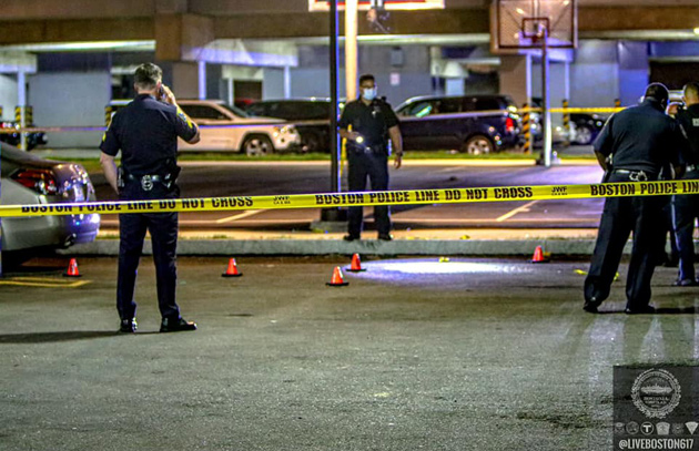 Border Street shooting scene