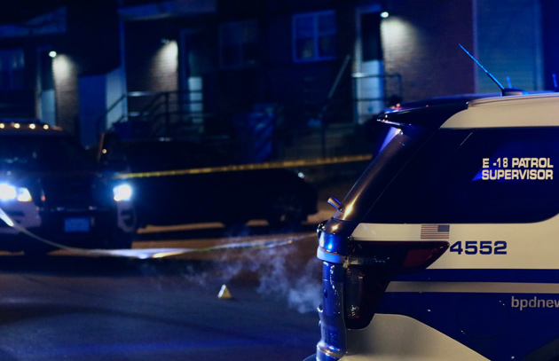 Bow Street shooting scene