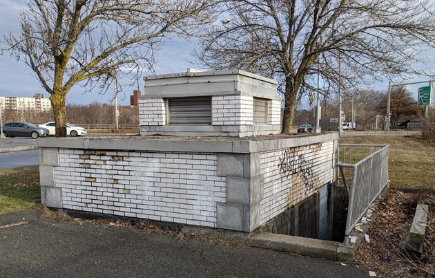 Mystery bunker in Brighton