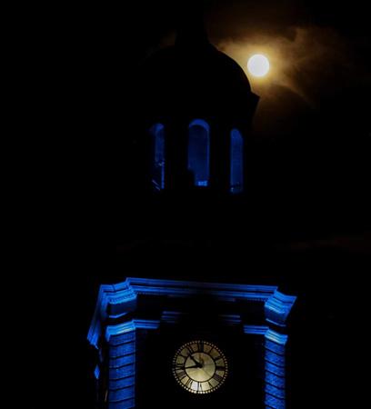Moon over Chelsea