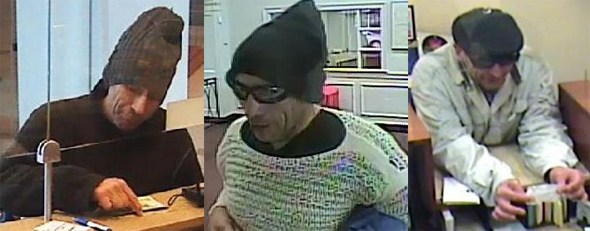 Man wanted for Dorchester bank robberies