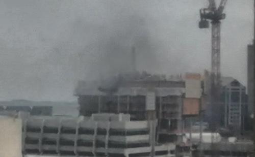 Government Center smoke