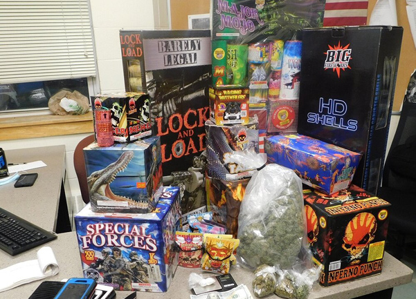 Fireworks seized in Mattapan