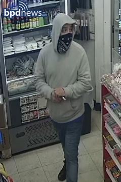 Wanted man with gun