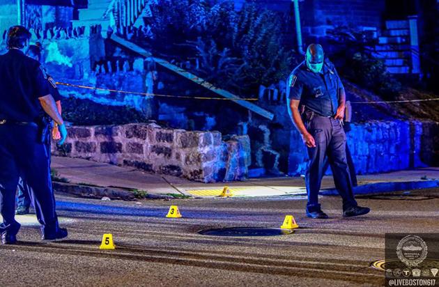 Draper Avenue crime scene