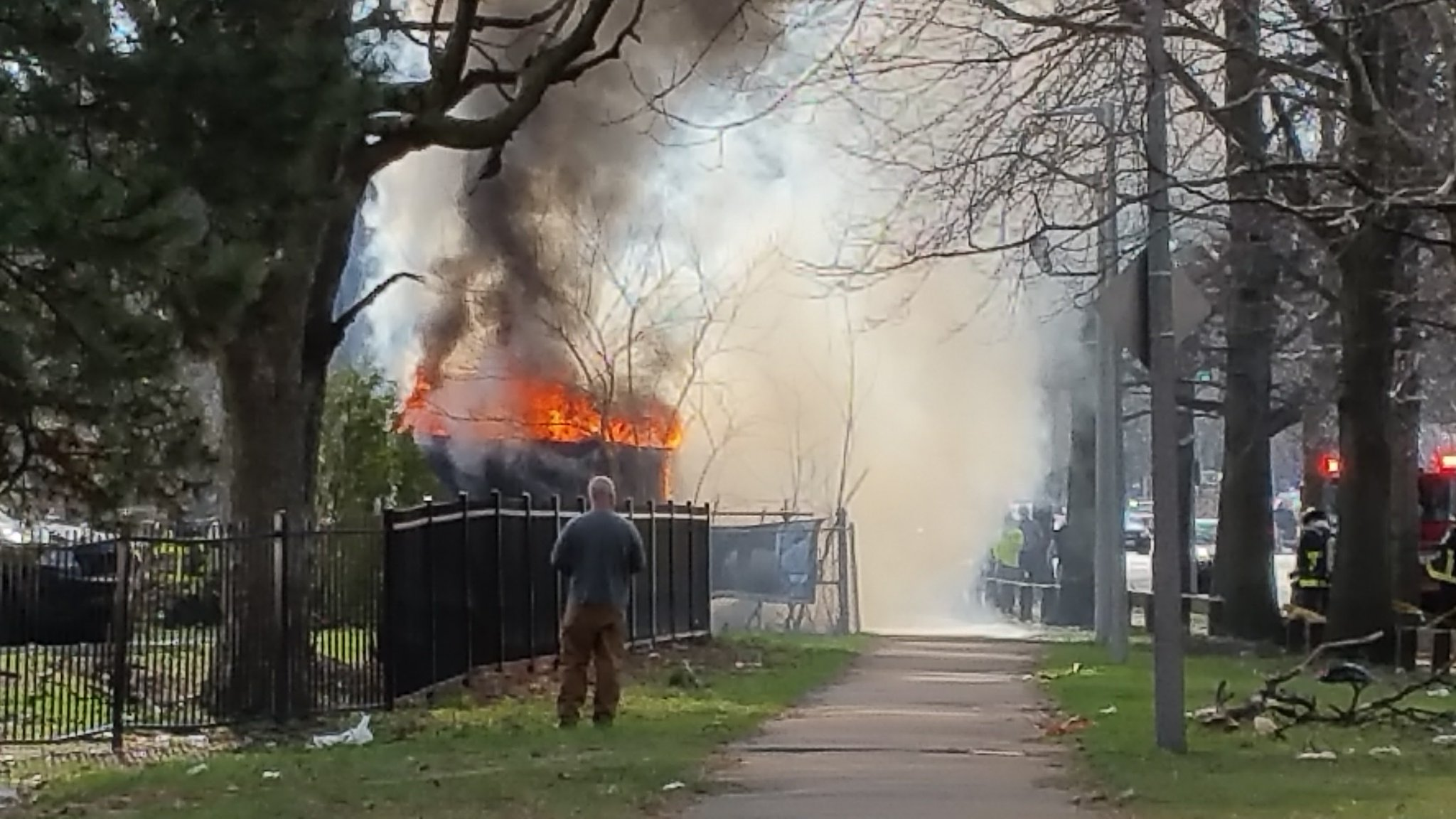 Melnea Cass fire