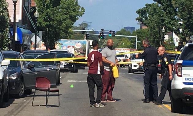 Egleston Square crime scene