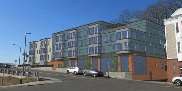 Proposed Fairmount Avenue building
