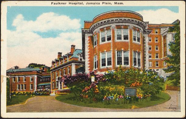 Faulkner Hospital in 1905