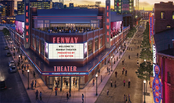 Fenway Theater architect's rendering.