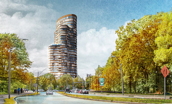 Proposed Fenway apartment tower