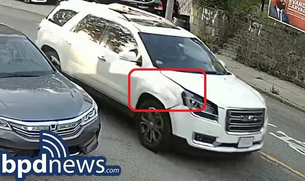 SUV in question