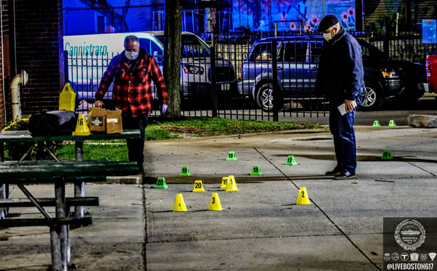 Detectives and evidence markers