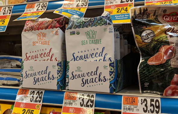 Seaweed snacks now kosher for Passover