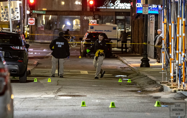 Lagrange Street shooting site