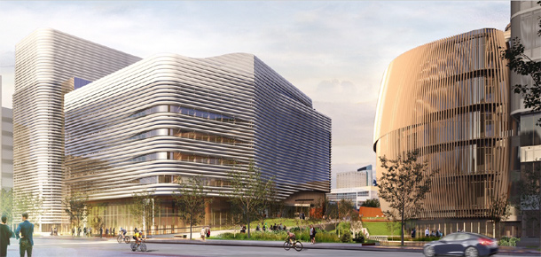 Proposed Northeastern University building