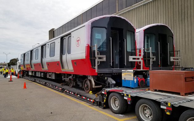 New Red Line cars