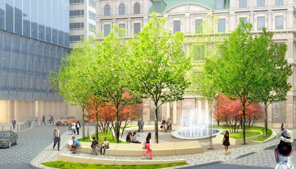 New look of Winthrop Square without Burns