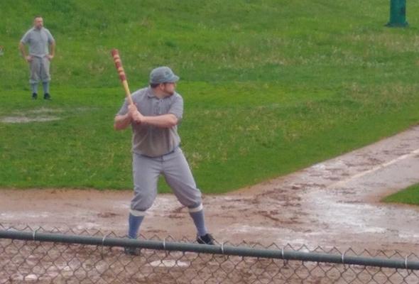 1884-style baseball in Roslindale