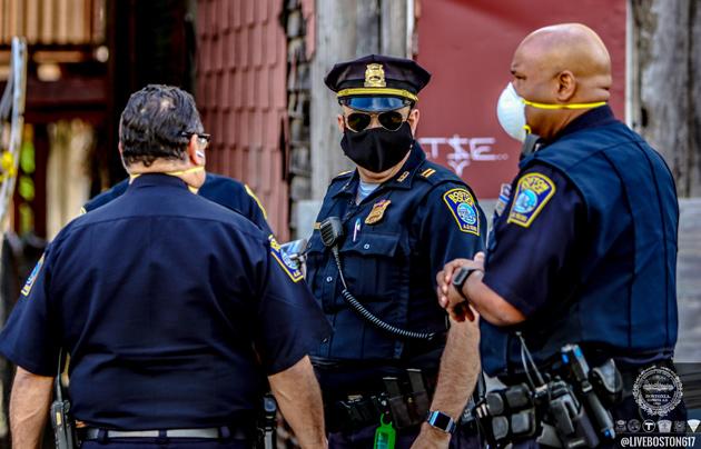 Boston cops investigate Orleans Street gunfire