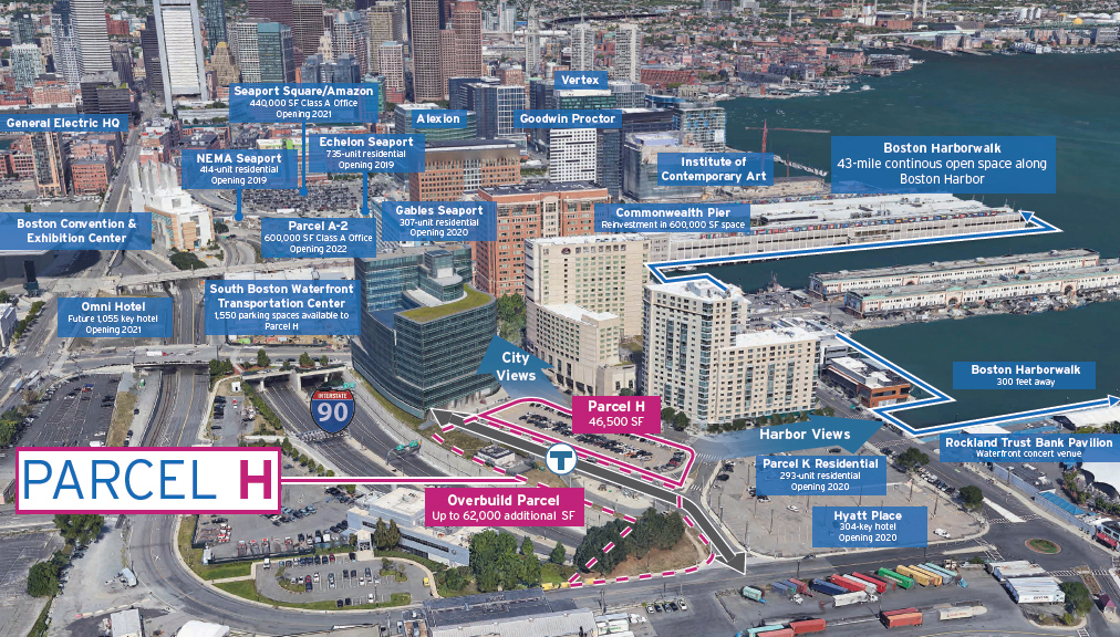South Boston Waterfront development