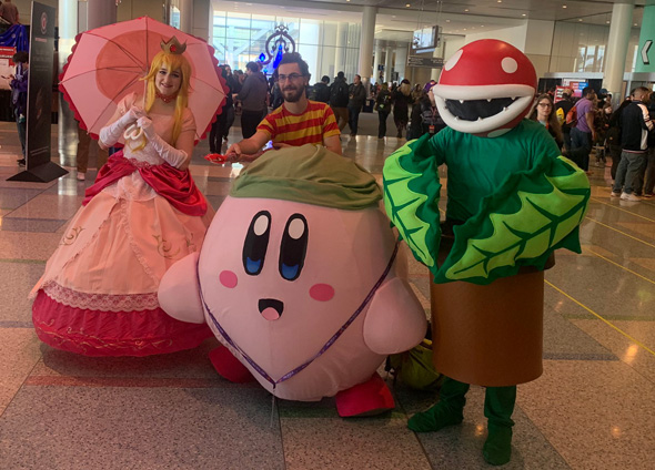 Pax East attendees in Boston