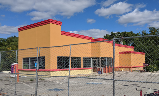New Popeyes going in on VFW Parkway in West Roxbury