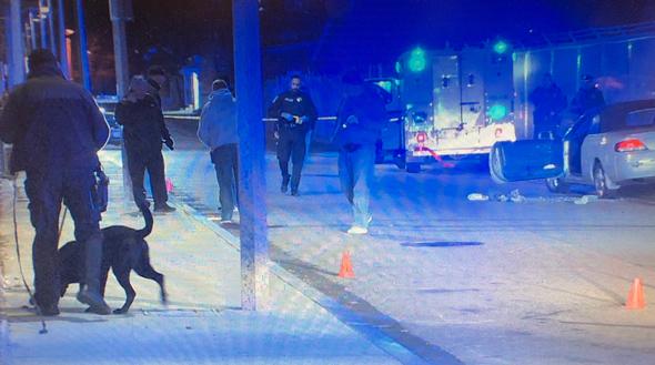 Proctor Street shooting scene