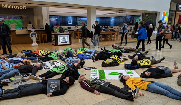 Climate change die in at Prudential Center