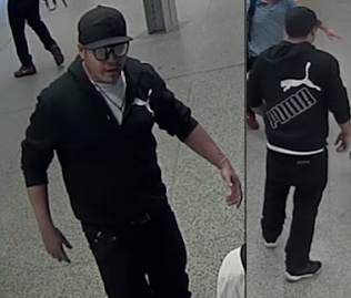 Wanted for Government Center assault; wearing Puma jacket