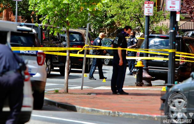 Police investigate gunfire scene