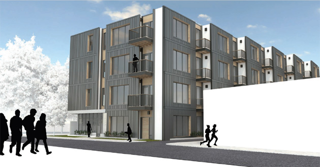 Taft Hill architect's rendering