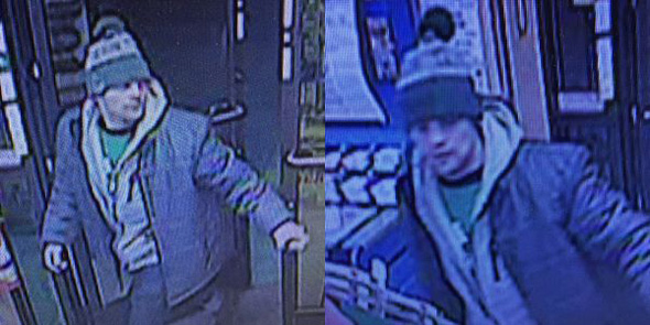 Wanted for credit-card theft