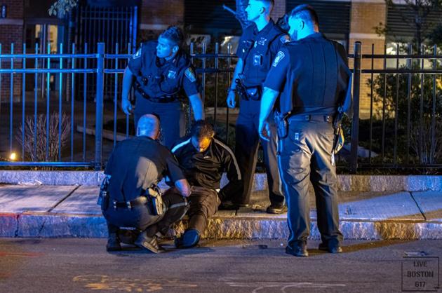 Suspect in custody