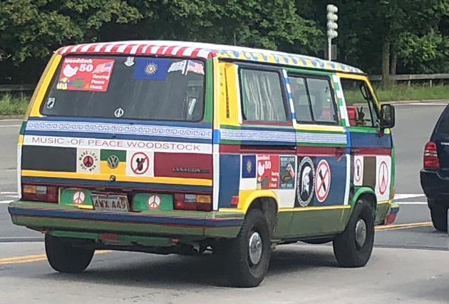 Woodstock van in Brighton