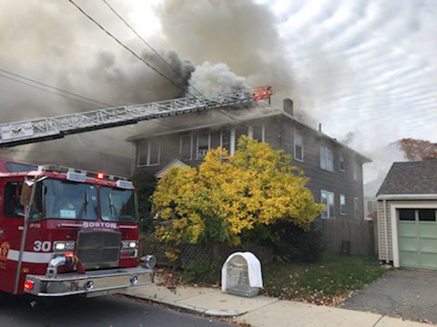 Willow Street fire
