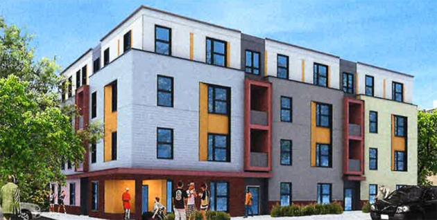 151 Spencer St. rendering