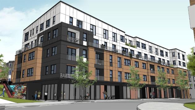Bartlett Place rendering