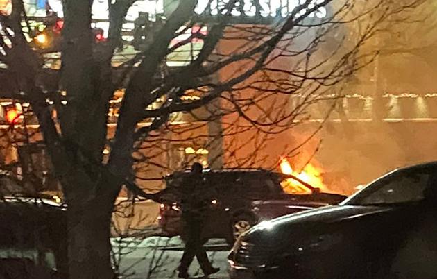 Blanchards fire