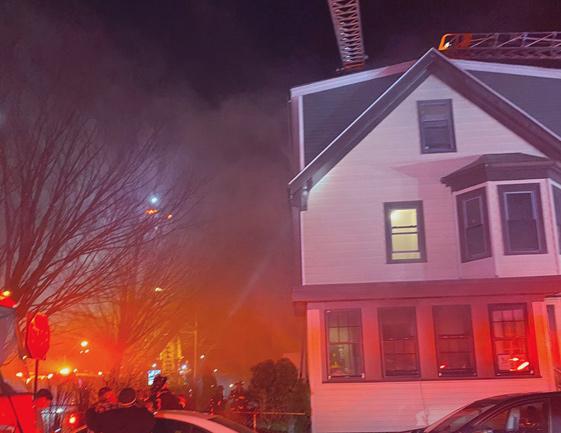 25 Bloomington St fire
