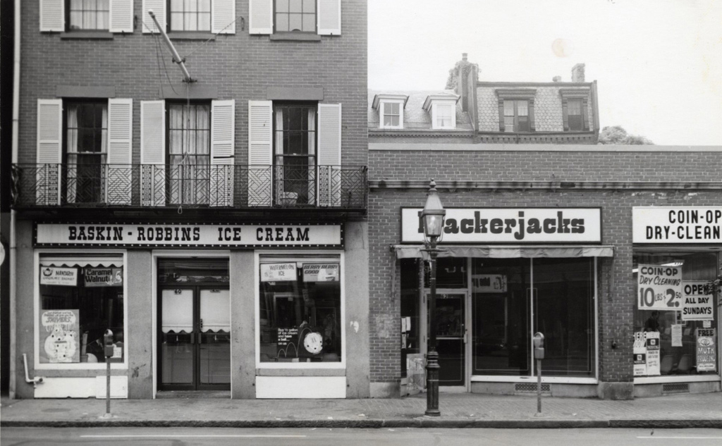 Baskin-Robbins in old Boston, but where?
