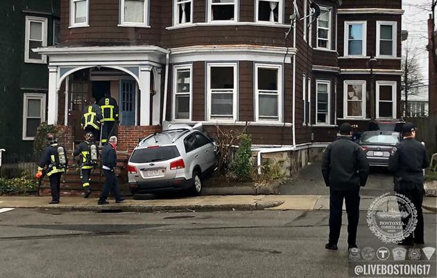 Calumet Street crash