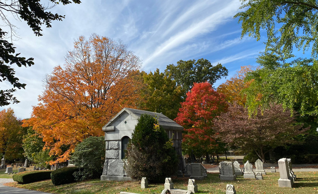 Forest Hills Cemetery today