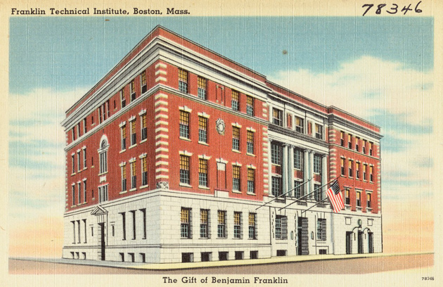 Franklin Union building in Boston's South End