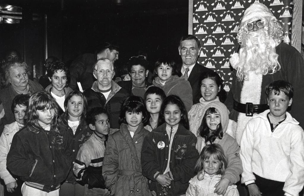 Ray Flynn, Santa and mystery guests