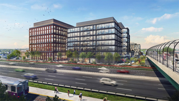 Proposed new innovation center on Lincoln Street