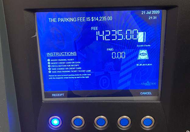 Expensive parking price in the Seaport: $14,235 for two hours