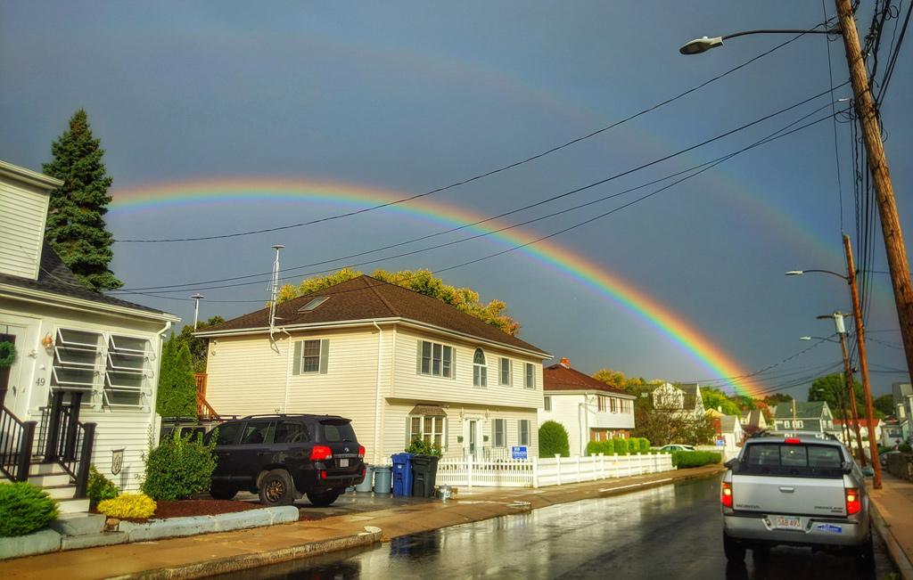 Rainbow over Readville