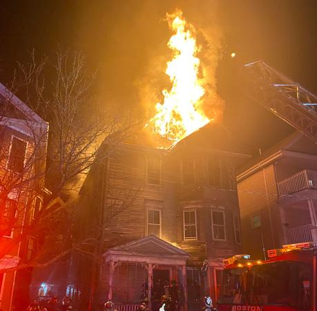 Romsey Street fire